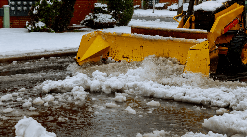 Snow removal Newport News VA 2